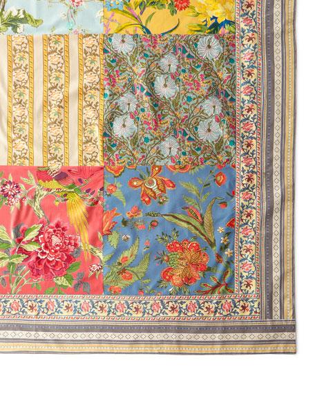 """Estelle Patchwork Tablecloth, 60""""Sq."""