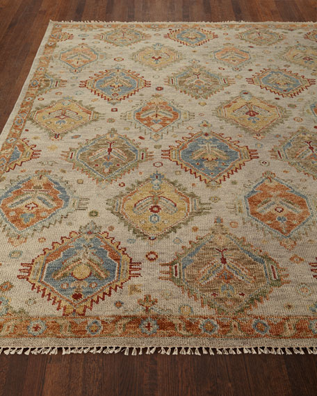 Elswood Hand-Knotted Rug, 6' x 9'