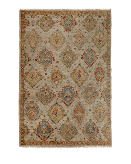 Elswood Hand-Knotted Rug, 9' x 12'
