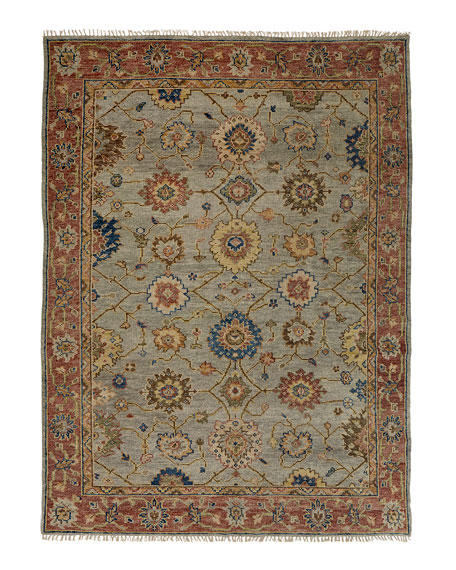 Addington Hand-Knotted Rug, 6' x 9'