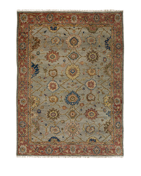 Addington Hand-Knotted Rug, 9' x 12'