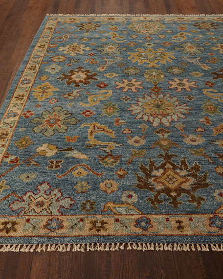 Cromwell Hand-Knotted Rug, 6' x 9'