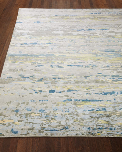 Ian Hand-Knotted Rug  6' x 9'