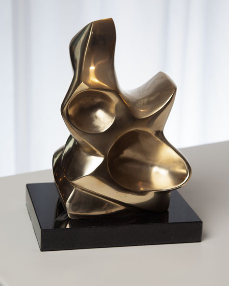 Global Views Large Abstract Figural Sculpture