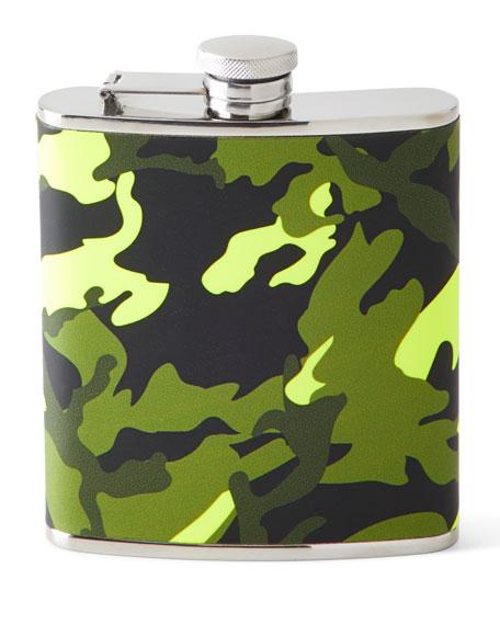 Camo Wrapped Flask