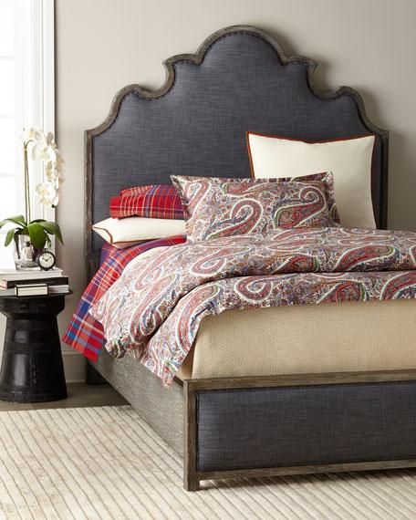 Hooker Furniture Julian Upholstered King Bed