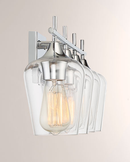 Octave 4-Light Bath Bar Sconce