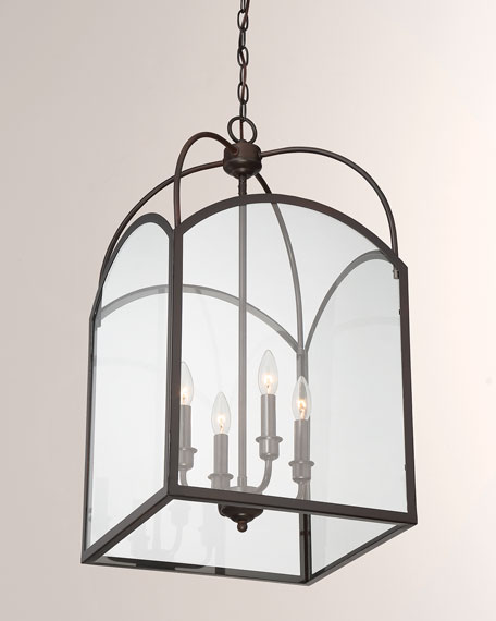 Garrett Four-Light Foyer Lighting Pendant