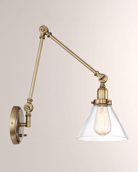 Drake 1-Light Adjustable Sconce