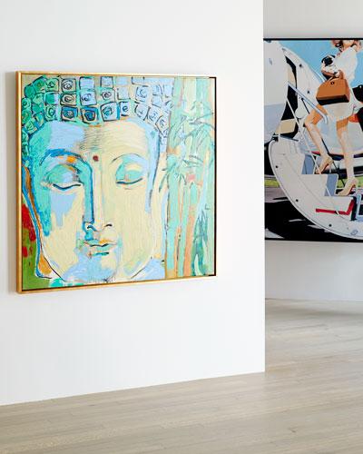 Buddah Giclee Canvas Art by Robert Robinson