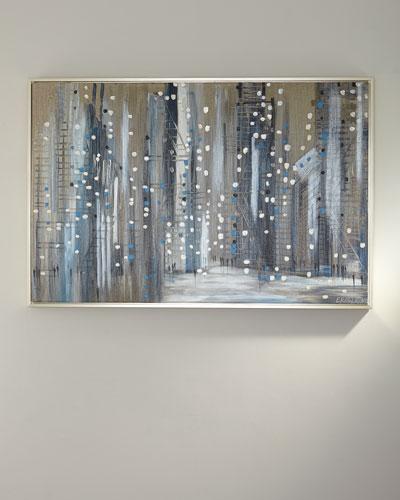 Silver Night Giclee Canvas Art by Ekaterina Ermilkina