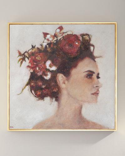 Secret Garden Giclee Canvas Art by Nava Lundy