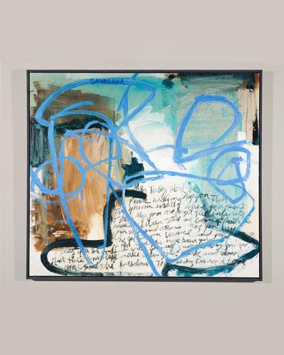 Savasana Giclee Canvas Art by Robert Robinson