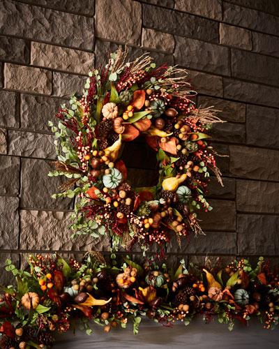 Autumn Harvest 28 Wreath
