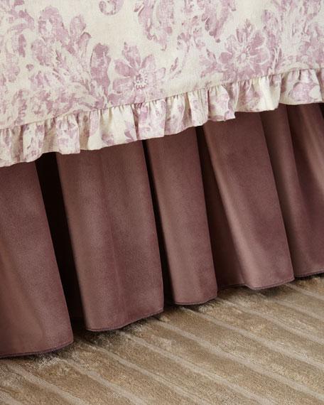 Iris Adjustable Velvet Dust Skirt