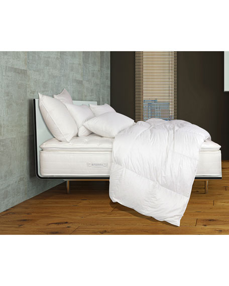 "Mille Luxe Pillow Top King 9"" Mattress Set"