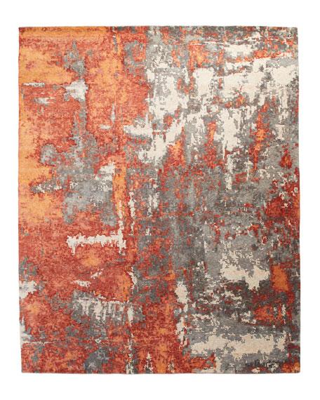 Garrick Hand-Knotted Rug, 10' x 14'