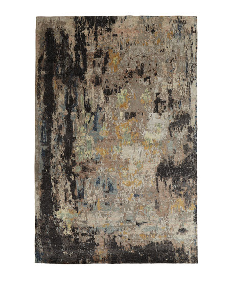 Cortlandt Hand-Knotted Rug, 4' x 6'