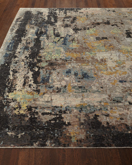 Cortlandt Hand-Knotted Runner, 2.6' x 10'