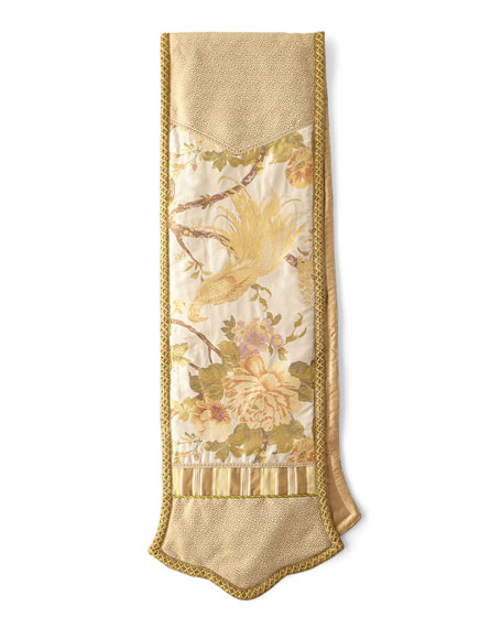 Fanciful Pheasant Table Runner