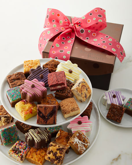 Brownie Points 30-Piece Baby Brownies