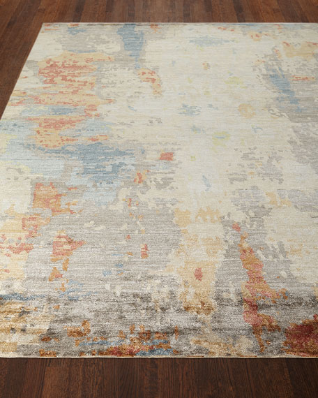 Andre Hand-Knotted Rug, 6' x 9'