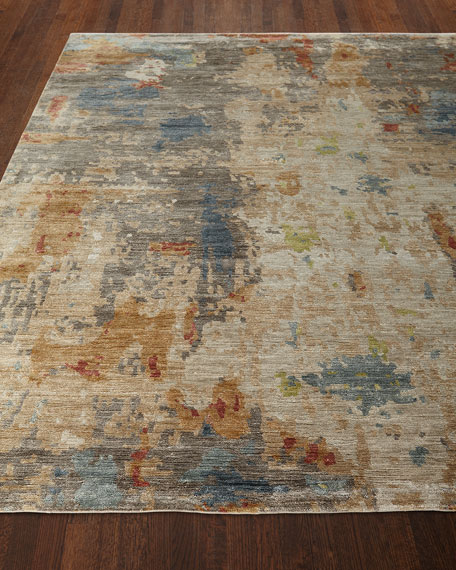 Andre Hand-Knotted Rug, 9' x 12'