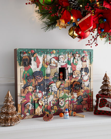 Byers' Choice Dogs Christmas Advent Calendar