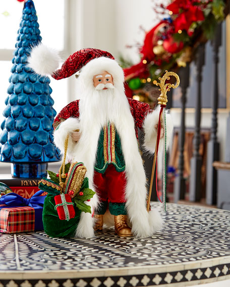 "Classic Christmas Santa, 18"""