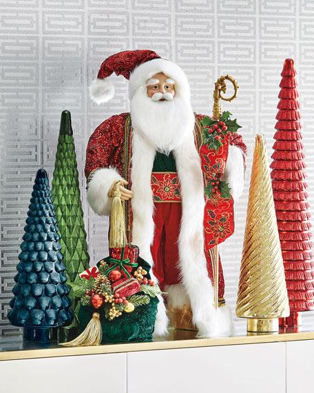 "Classic Christmas Santa, 36"""