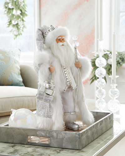 Crystal Christmas Santa  19