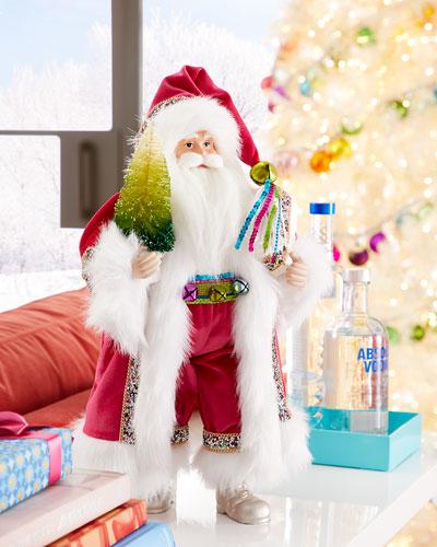 Holiday Brights Santa  18.5