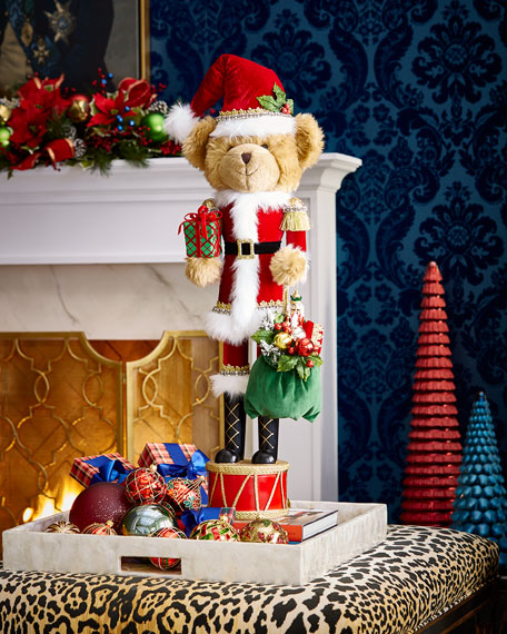 Classic Christmas Bear Nutcracker