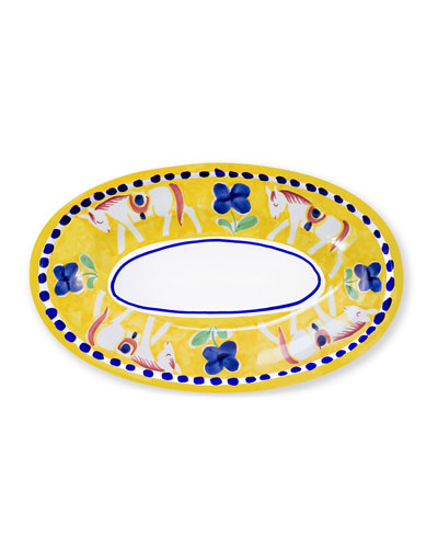 Cavallo Small Oval Tray