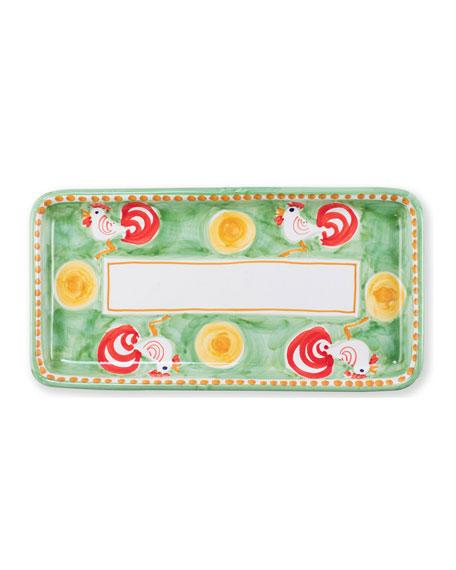 Campagna Gallina Rectangular Platter