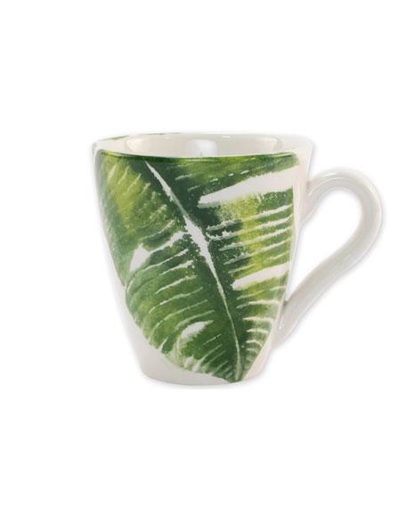 Into the Jungle Banana Leaf Mug