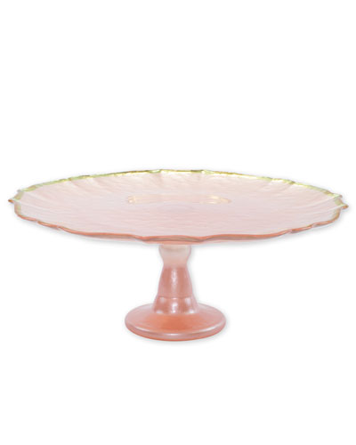Baroque Glass Cake Stand
