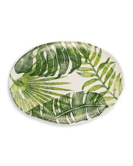 Into the Jungle Medium Oval Platter