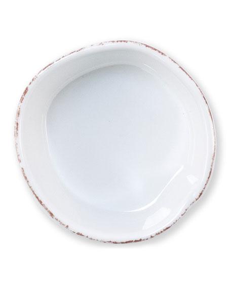 Melamine Lastra Condiment Bowl, White
