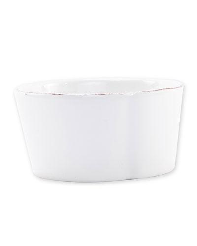 Melamine Lastra Condiment Bowl  White