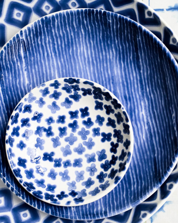 Vietrisantorini Flower Condiment Bowl