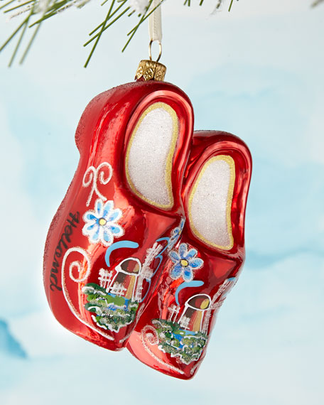 Wooden Shoes Ornament