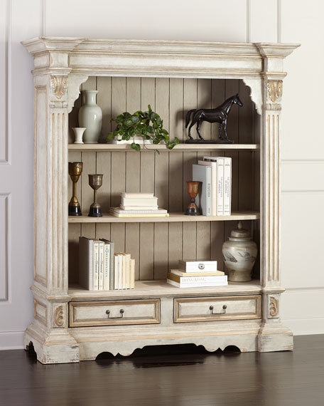 Vincente Carved Bookcase