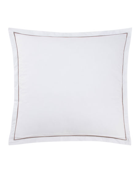 Legend Embroidered European Sham