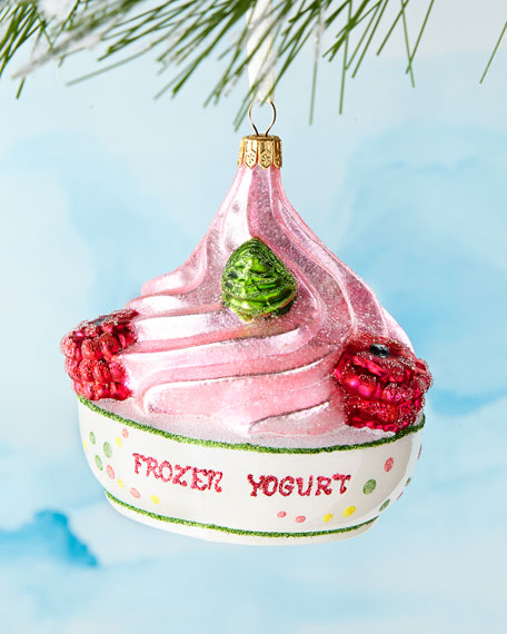 Frozen Yogurt Ornament
