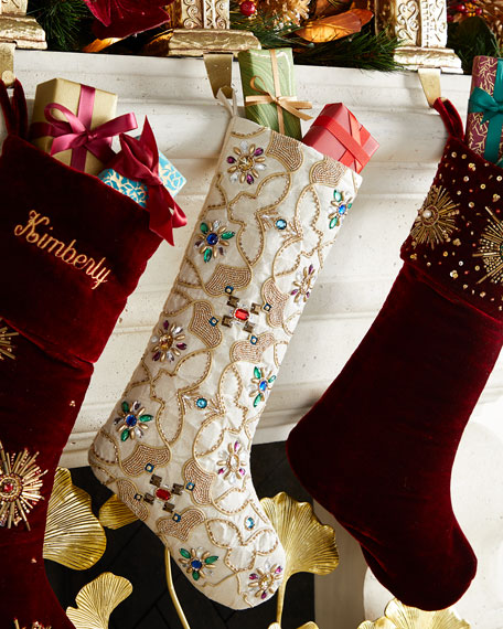Kim Seybert Byzantine Stocking