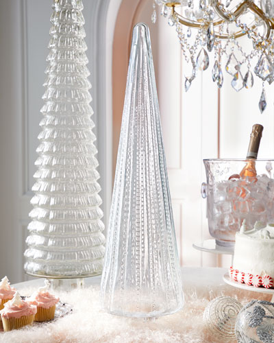 26 Clear Glass Tree