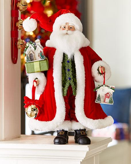 Classic Christmas Tabletop Santa