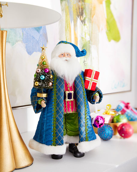 Brights Tabletop Santa