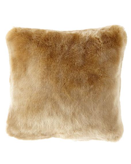 Sabrina Faux-Fur Pillow